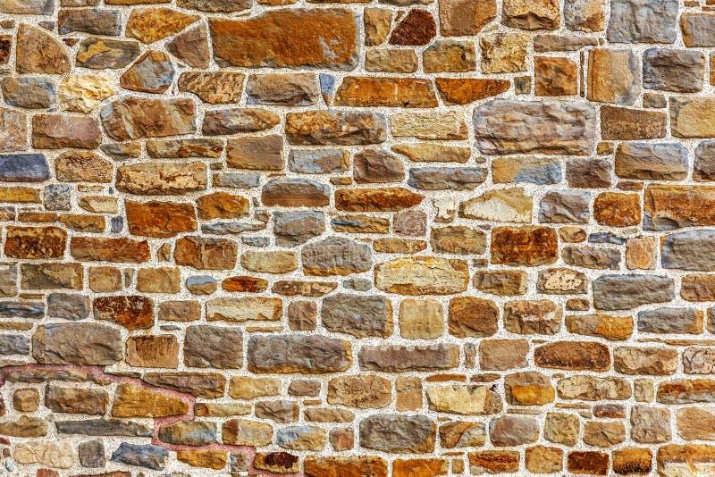 Wand Errichtet Vom Naturstein Stockfoto - Bild: 36802632