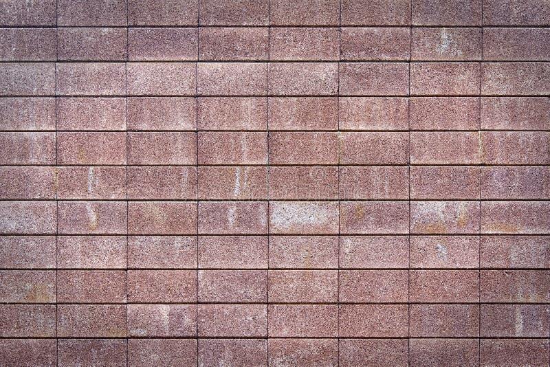 Wand hergestellt von den Ziegelsteinen lizenzfreies stockfoto