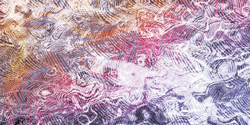 Wand-königliche abstrakte Hintergrund-Beschaffenheits-dekoratives Design lizenzfreie stockbilder