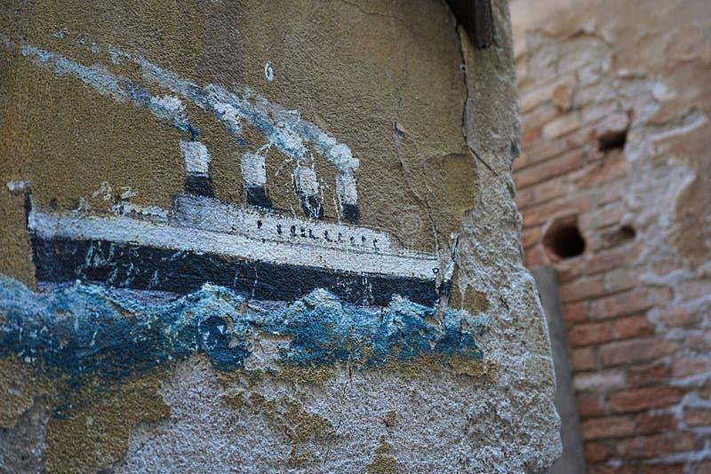 Wand, Kunst, Street Art, Beton