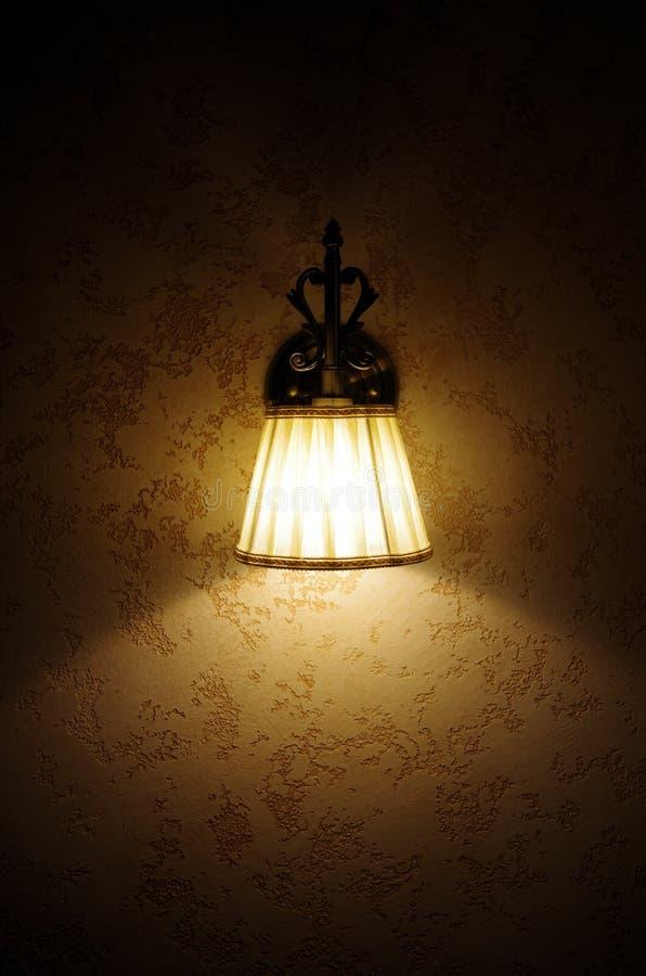 Wand-Lampe stockfotos