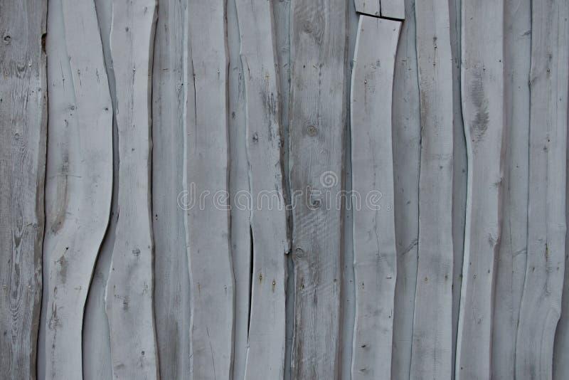 Wand von alten grauen abstrakten Brettern lizenzfreies stockbild