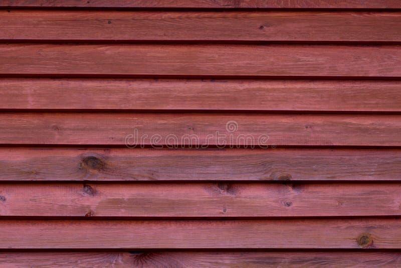 Wand von braunen Brettern lizenzfreie stockbilder
