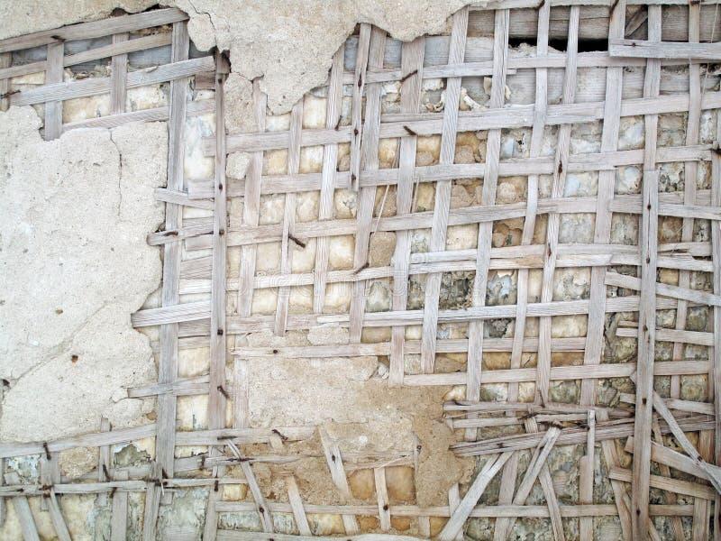 Wand-Zerfall-Zusammenfassung lizenzfreies stockfoto