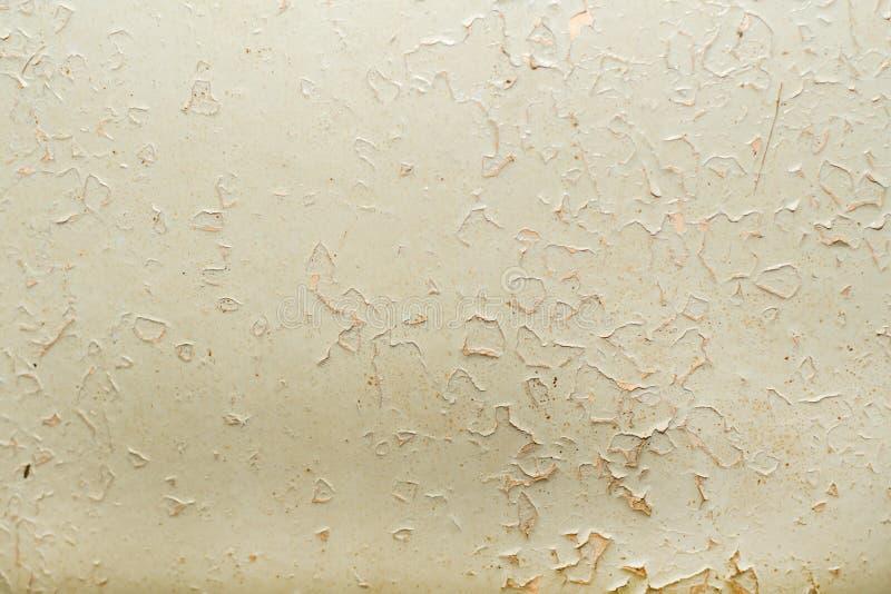 Wandbeschaffenheit mit abgezogener Farbe lizenzfreies stockfoto