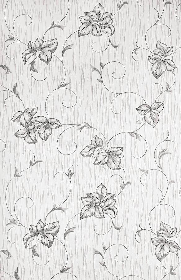 Wandblumenverzierung lizenzfreie stockbilder