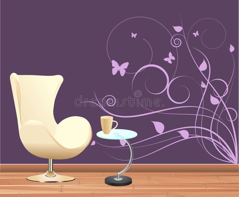 Wanddekoration stock abbildung