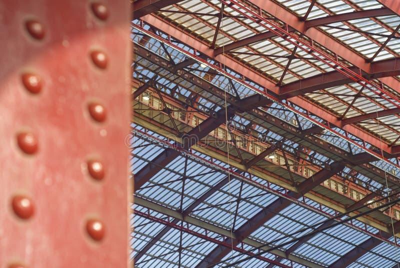 Wanddetail, Antwerpen-Zentrale-Station lizenzfreie stockfotos