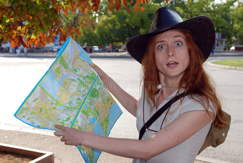 Wandelaar stock fotografie
