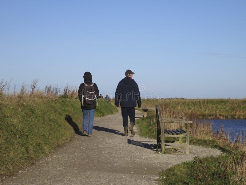 Wandelaars, caminantes fotos de archivo libres de regalías