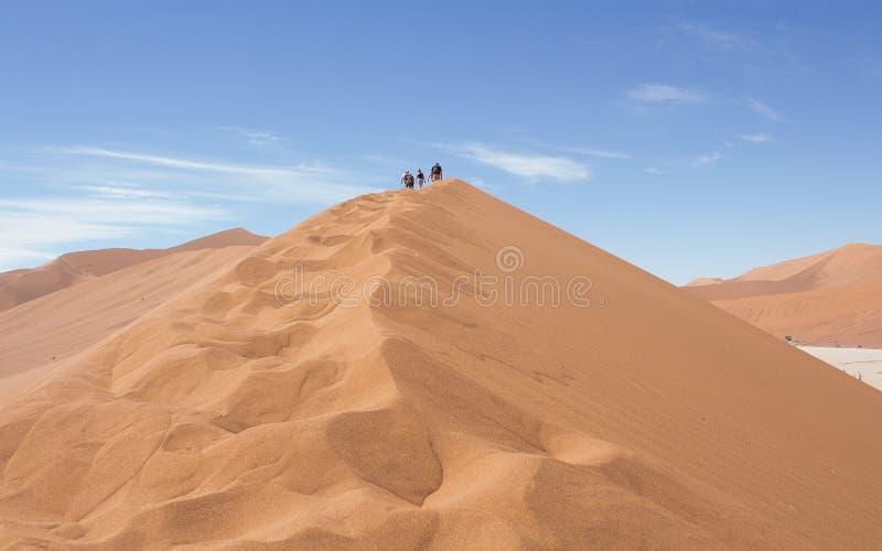 Wandelen Namibià « photographie stock
