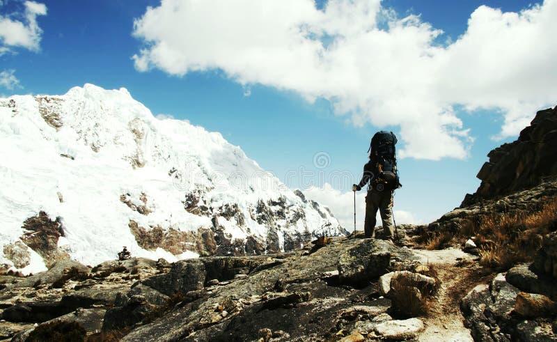 Wandeling in Cordilleras royalty-vrije stock afbeeldingen