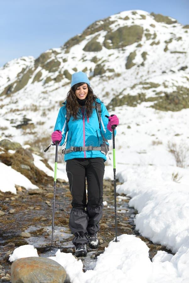 Download Wandeling op de winterberg stock foto. Afbeelding bestaande uit reis - 29501126