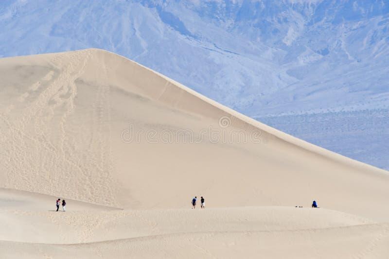 Wanderer in Death Valley
