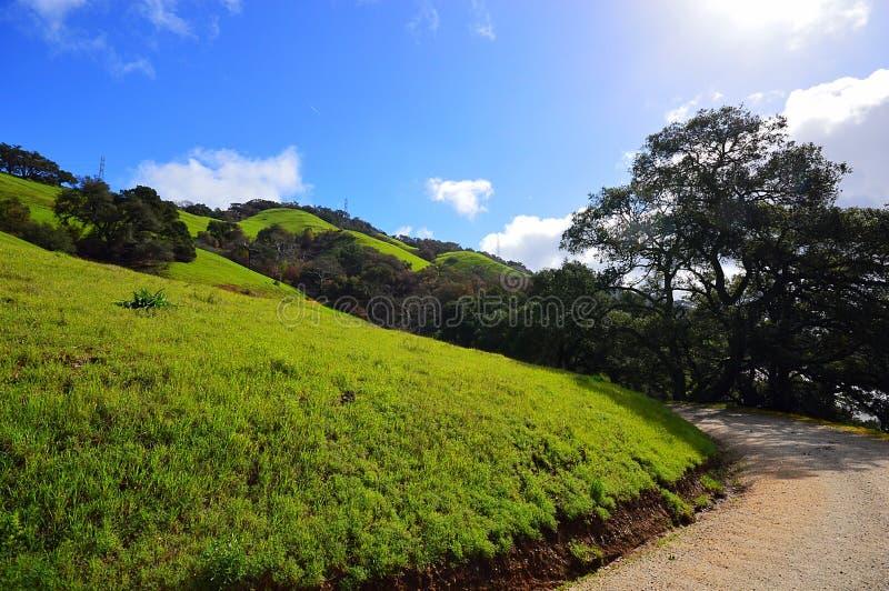 Wandern auf dem Cuesta-Grad stockfoto