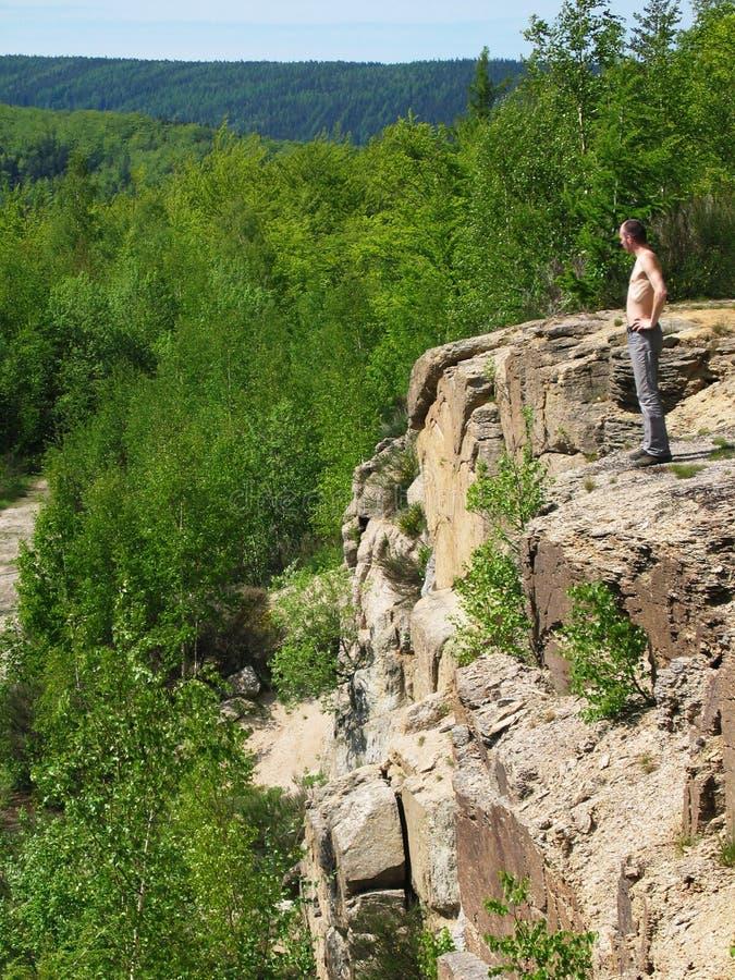 Wandern in den Rockies lizenzfreie stockfotografie