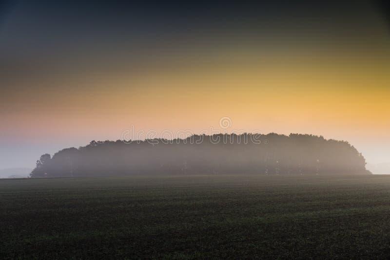 Wandern der Spur GR5 in der Benelux lizenzfreies stockfoto