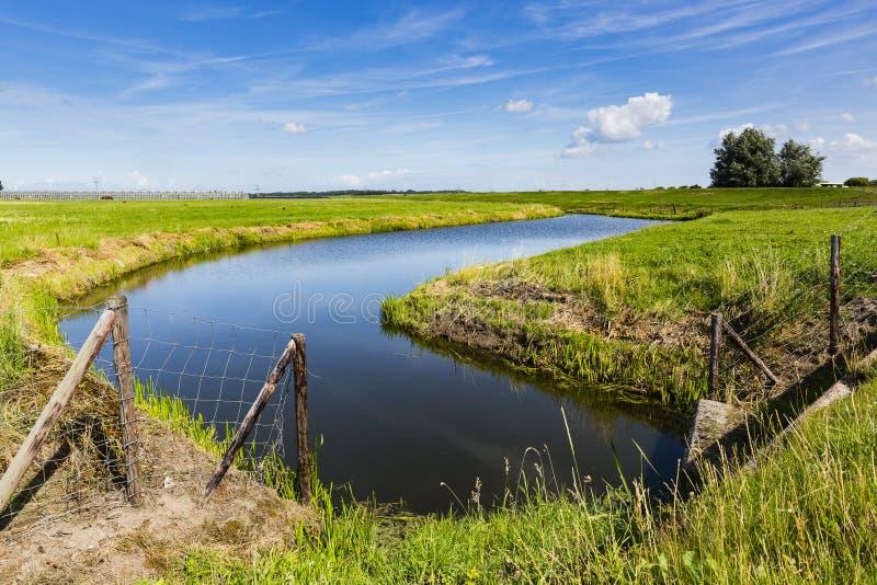 Wandern der Spur GR5 in der Benelux lizenzfreie stockfotografie