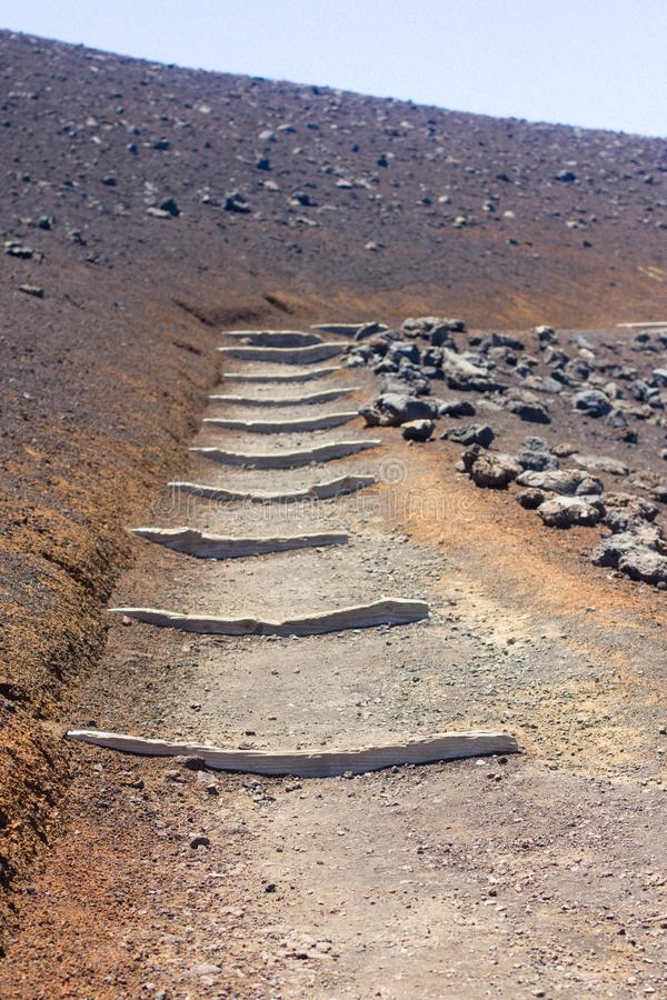 Wandern in Maui stockfotos
