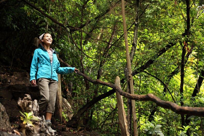 Wandern von La Palma, Kanarische Inseln lizenzfreies stockbild