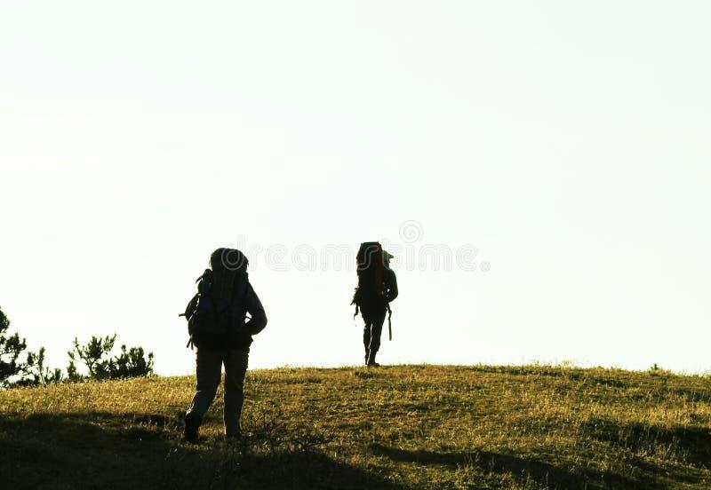 Wanderung lizenzfreies stockbild