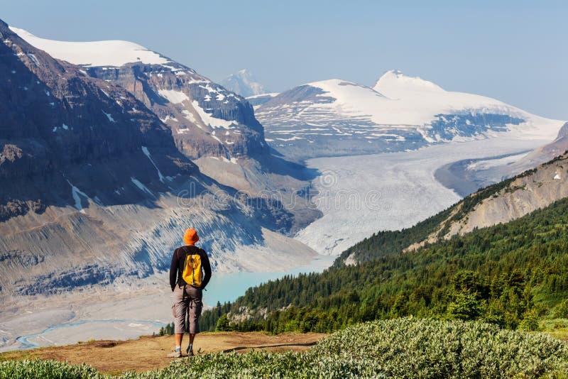 Download Wanderung in Kanada stockfoto. Bild von outdoor, trek - 90227218