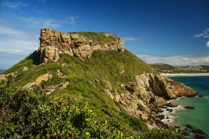Robberg Südafrika Wanderung Berg Hiking royalty free stock photos