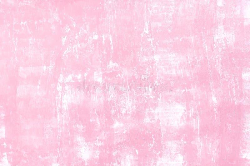 Wandhintergrund mit rosa Ton lizenzfreie stockfotos