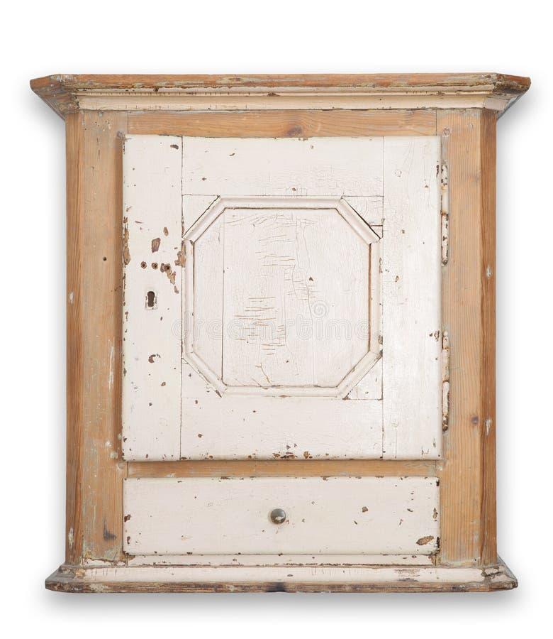 Wandkabinettschrank getrennt stockfoto