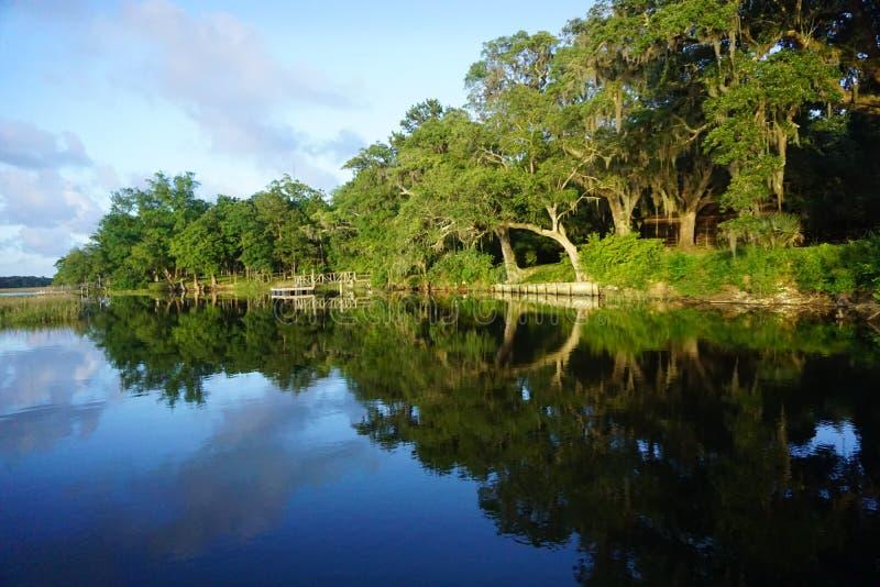 Wando rzeka, SC zdjęcia royalty free