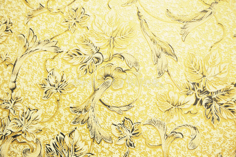 Wandpapier mit Blumenmuster stockbilder