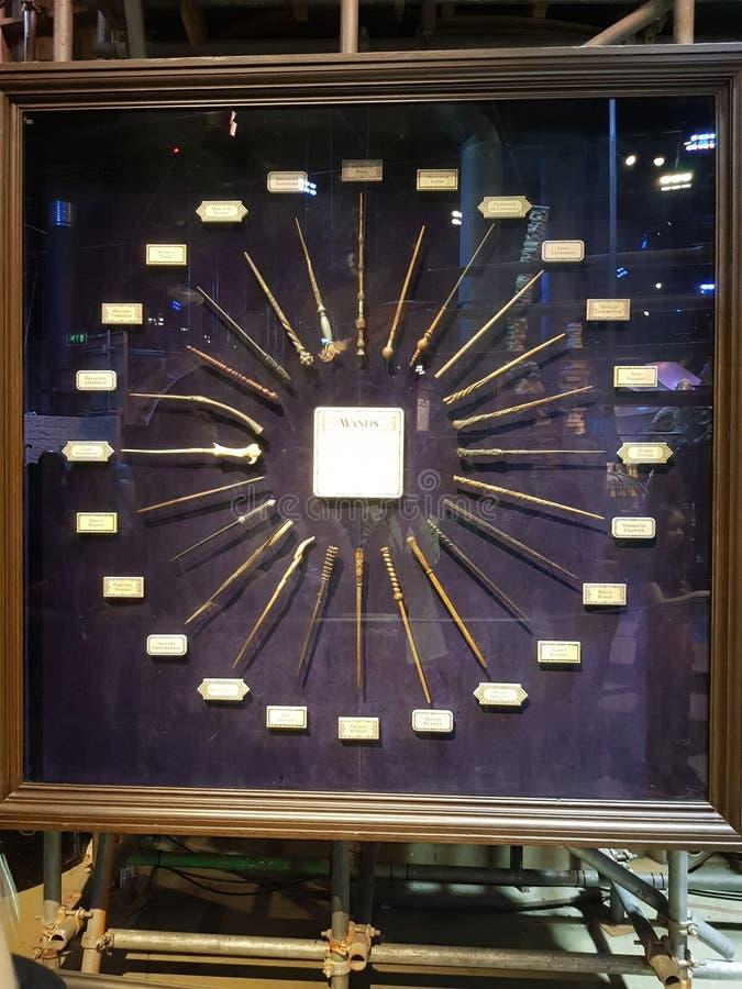 wands royaltyfria bilder