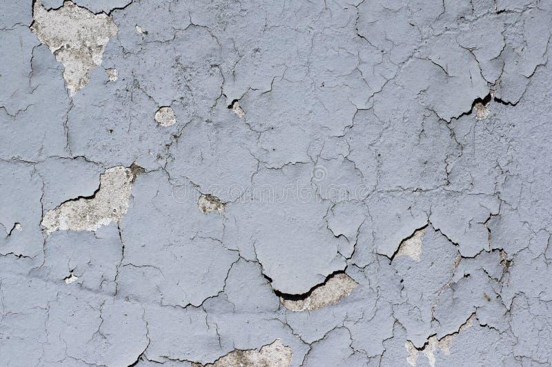 Wandschalenfarbe oder geknackt lizenzfreie stockfotografie