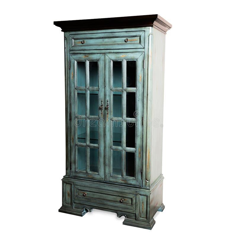 Wandschrank, Nachttisch, Möbel stockbild