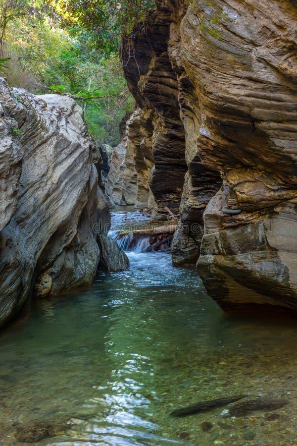 Wang Sila Lang Grand Canyon, Pua District, Nan in Thailand lizenzfreie stockfotos