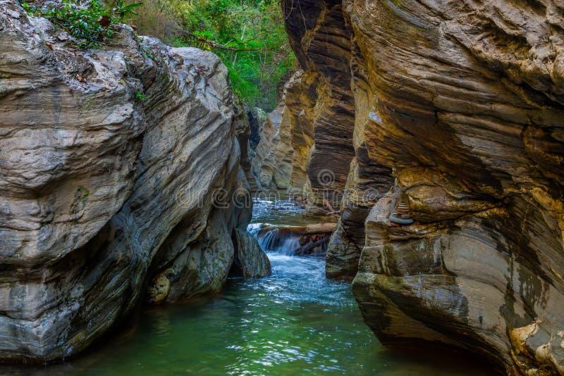 Wang Sila Lang Grand Canyon, Pua District, Nan in Thailand stockfotos