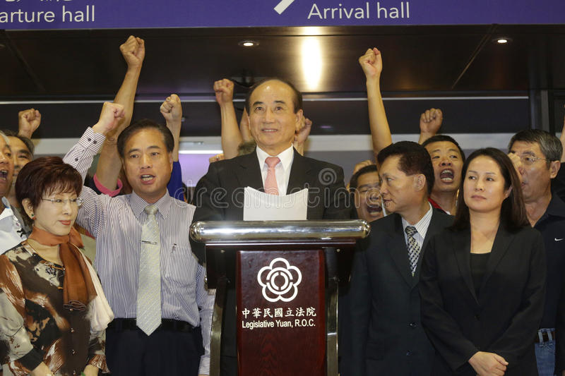Download Wang Vows KMT Loyalty Editorial Stock Image - Image: 33553659