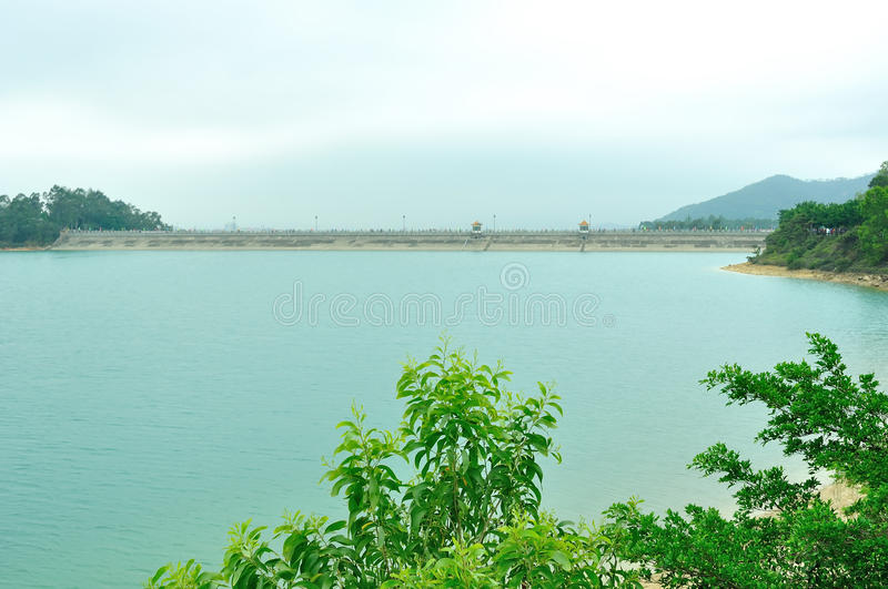 Wangbao Reservoir royalty free stock images