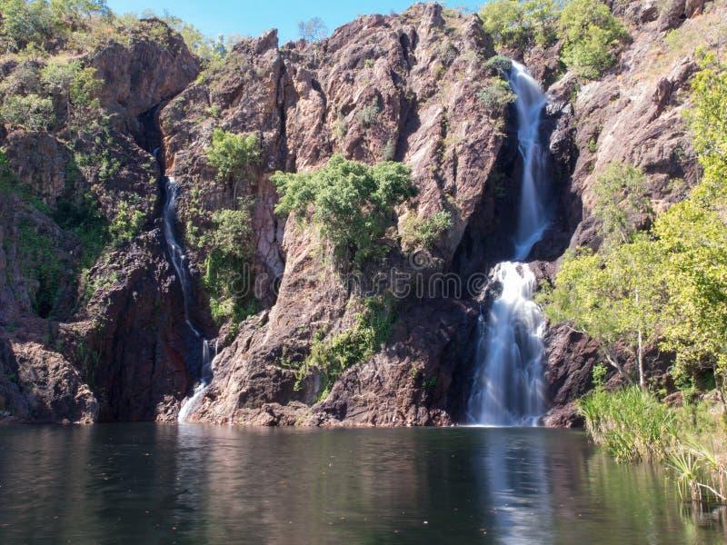 Wangi秋天, Litchfield国家公园,澳大利亚 免版税库存照片
