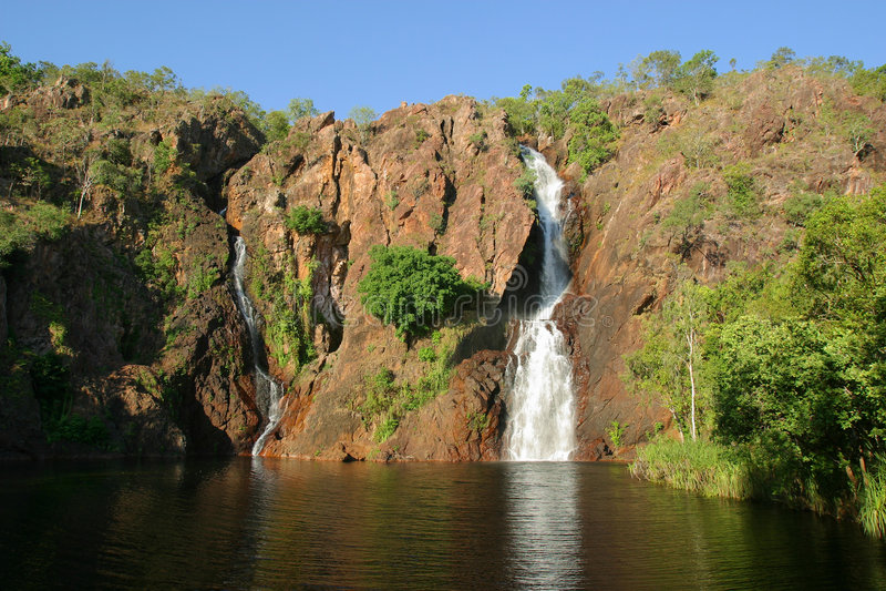 Wangi Falls. Litchfield National Park. Austra royalty free stock image
