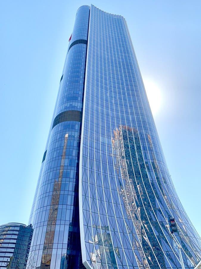 Wangjing, Пекин, Китай, высокое здание, стоковые изображения