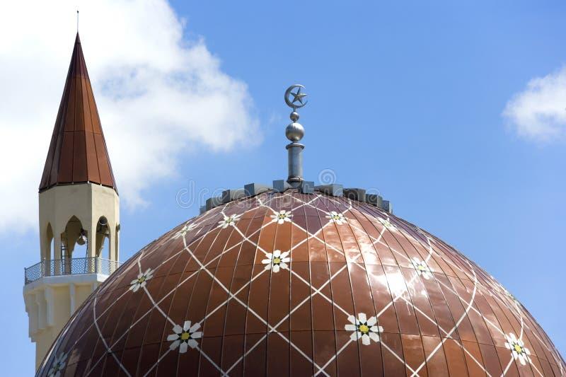 Wangsa Maju Moschee lizenzfreies stockbild