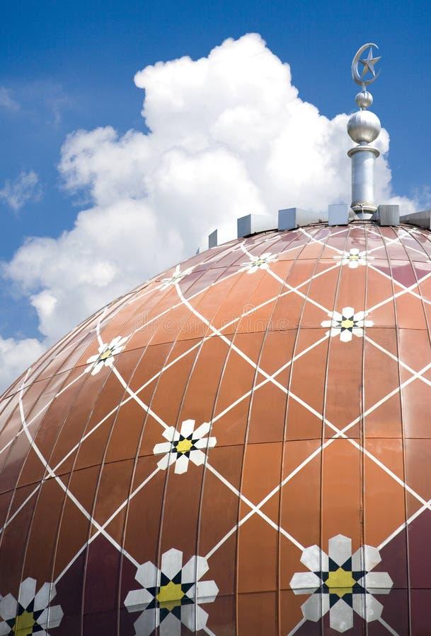 Wangsa Maju Mosque. Mosque at Wangsa Maju, Kuala Lumpur, Malaysia royalty free stock photo