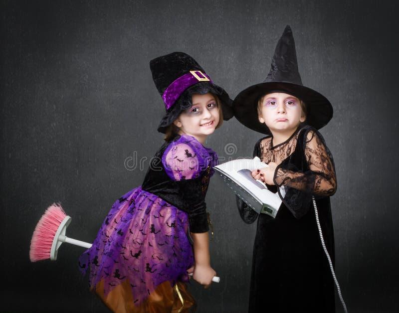 Wanhopig huis Halloween royalty-vrije stock afbeeldingen