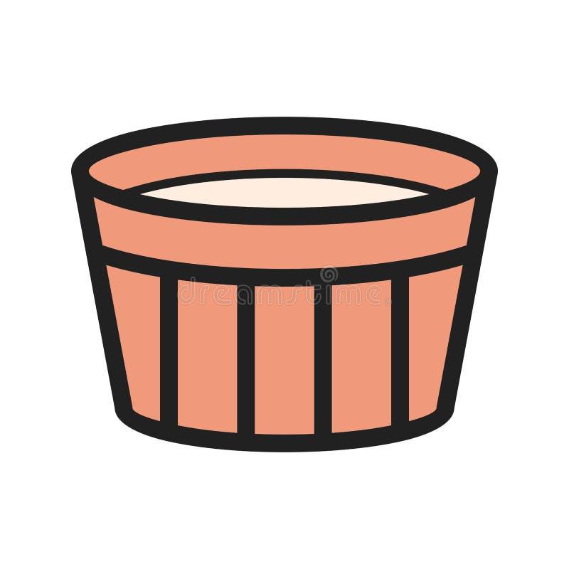 wanilia karmelizująca kremowego creme deserowego francuza cukieru odgórna tradycyjna wanilia royalty ilustracja