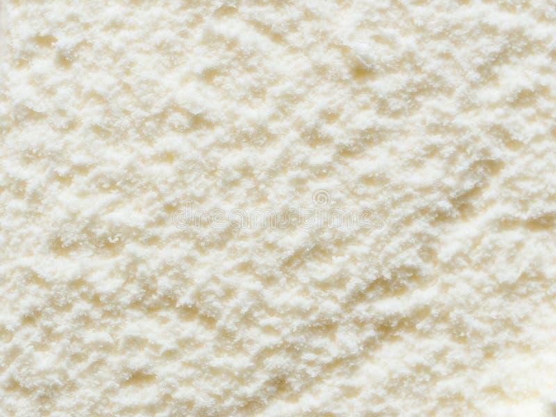 Waniliowy lody zdjęcia stock