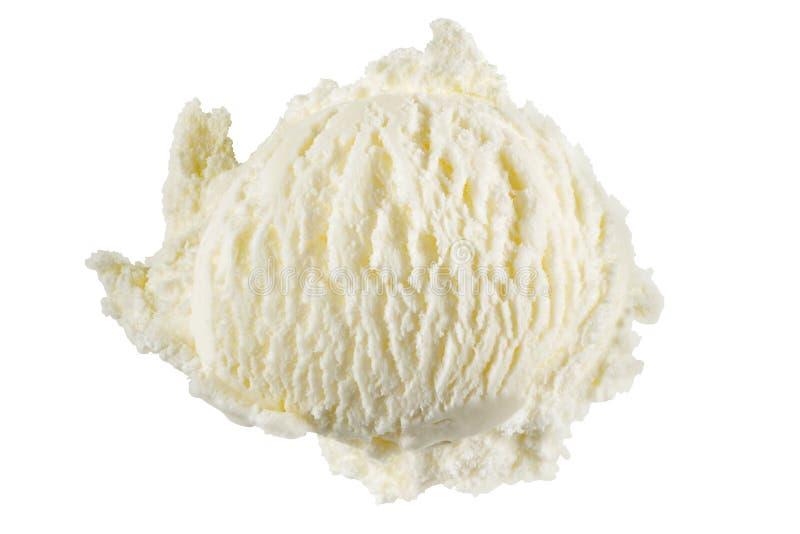 Waniliowy lody zdjęcie stock