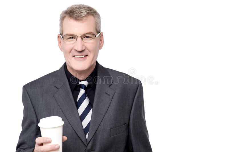 Wanna have some coffee ? stock image
