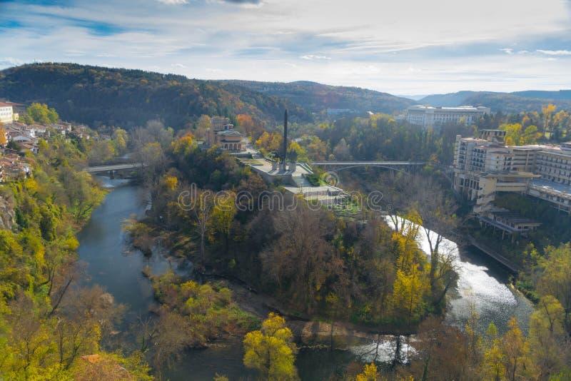 Wanneer in Veliko Tarnovo in Bulgarije royalty-vrije stock foto's