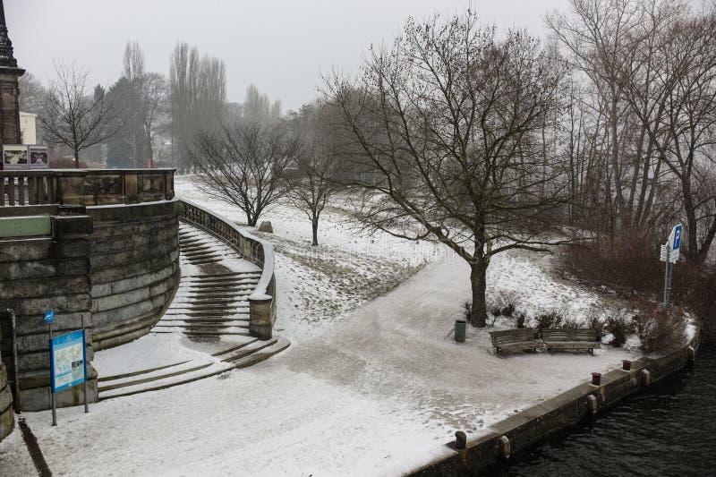 Wannsee,波茨坦,德国 免版税库存图片